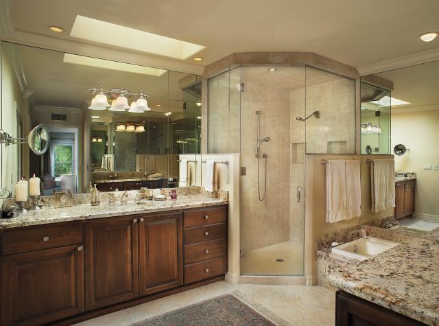 Tucson, AZ - Master Suite Remodel. Master Bathroom Remodel with steam shower