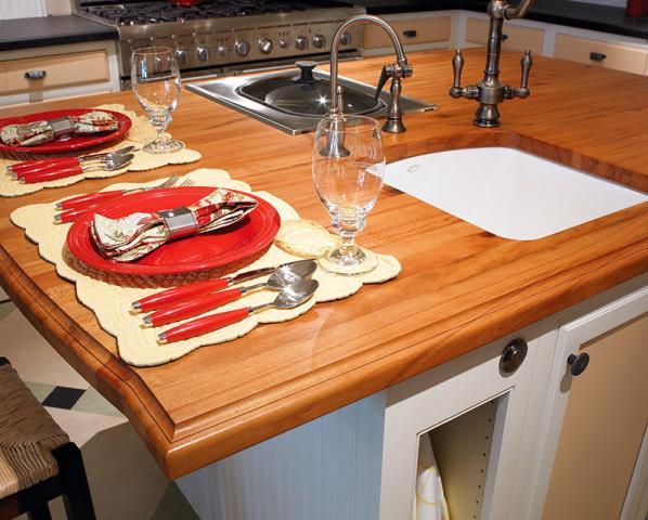 Tucson, AZ - Kitchen Remodel. Butcher Block Countertop. Undermount Sink. Steamer. Range.