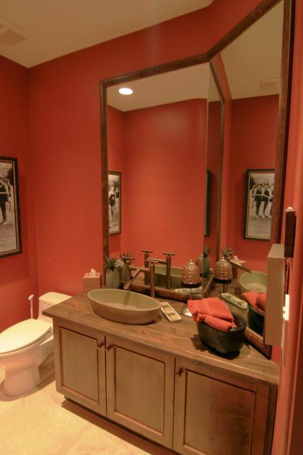 Tucson, AZ - Guest Bathroom Remodel. Mirror. Granite Countertop. Vessel Sink. Pima Canyon.