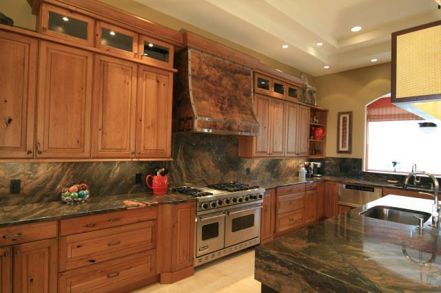 Tucson, AZ - Kitchen Remodel. Pima Canyon. Granite Countertops. Custom Hood.