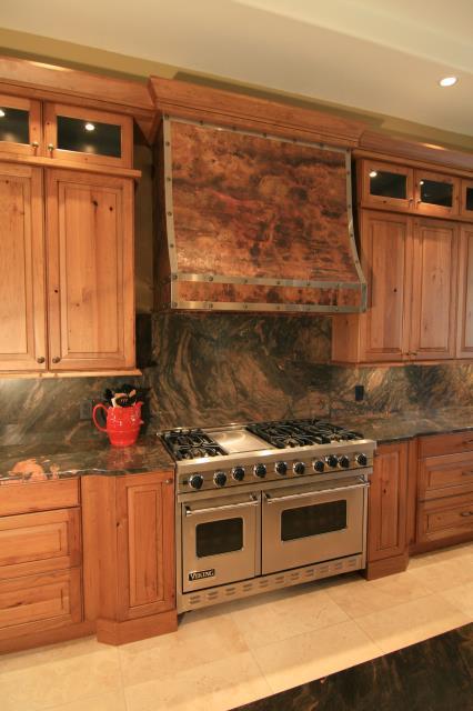 Tucson, AZ - Kitchen Remodel. Pima Canyon. Granite Countertops. Custom Hood. Range.
