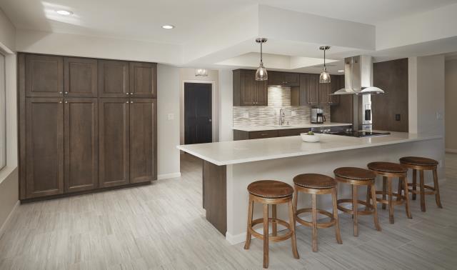 Tucson, AZ - Kitchen Remodel. Whole House Remodel. Appliances. Granite Countertops. Wellborn Cabinets. Cabinet Storage.