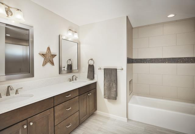 Tucson, AZ - Master Bathroom Remodel. Whole House Remodel. Granite Countertops. Wellborn Cabinets. Master Suite Room Addition.