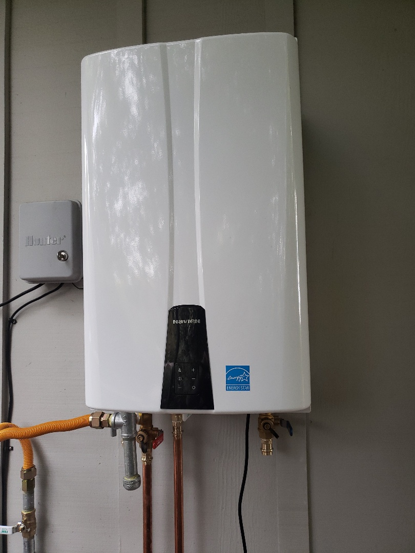 Aptos, CA -  New Tankless water heater installation
