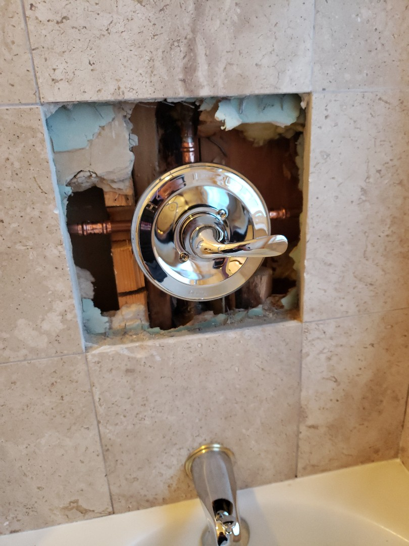 Capitola, CA - New shower valve replacement.