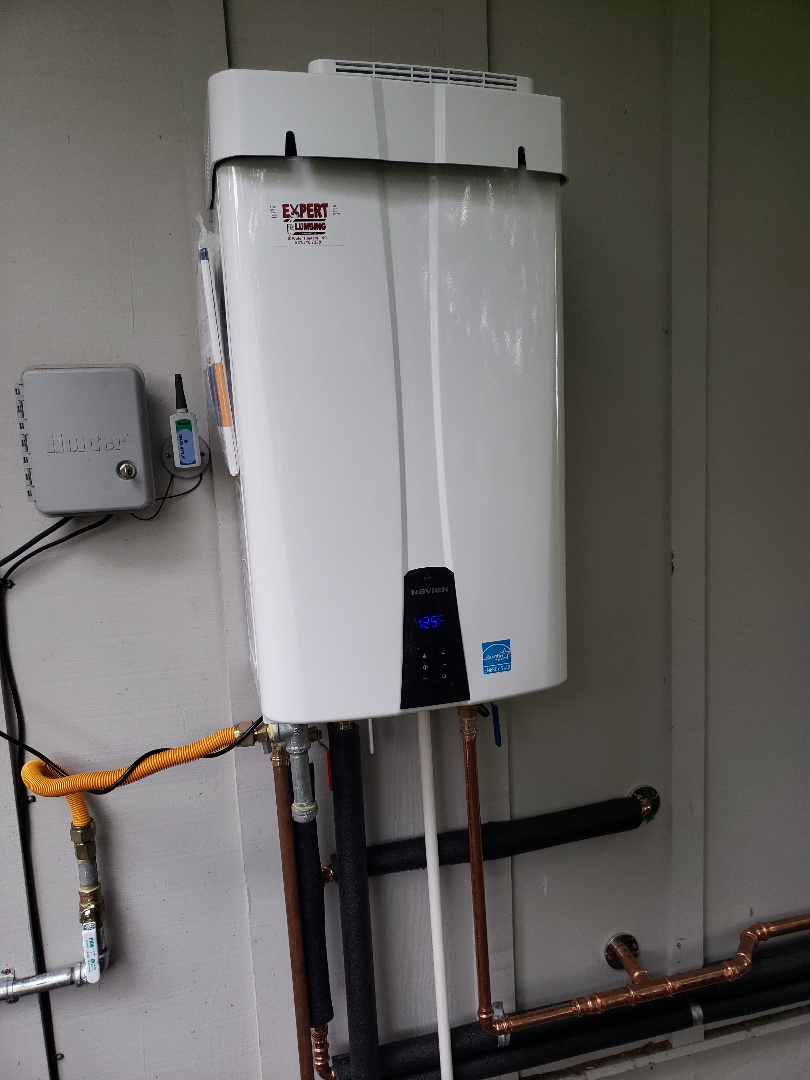 Aptos, CA - New Tankless water heater installation by Expert Plumbing