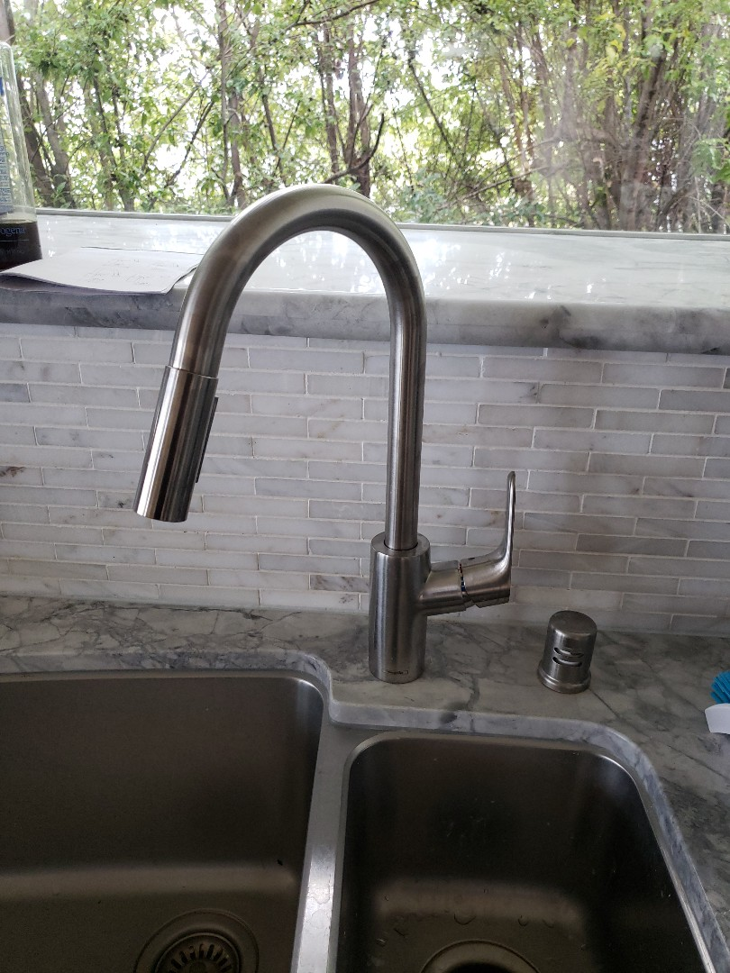 Aptos, CA - New kitchen faucet installation