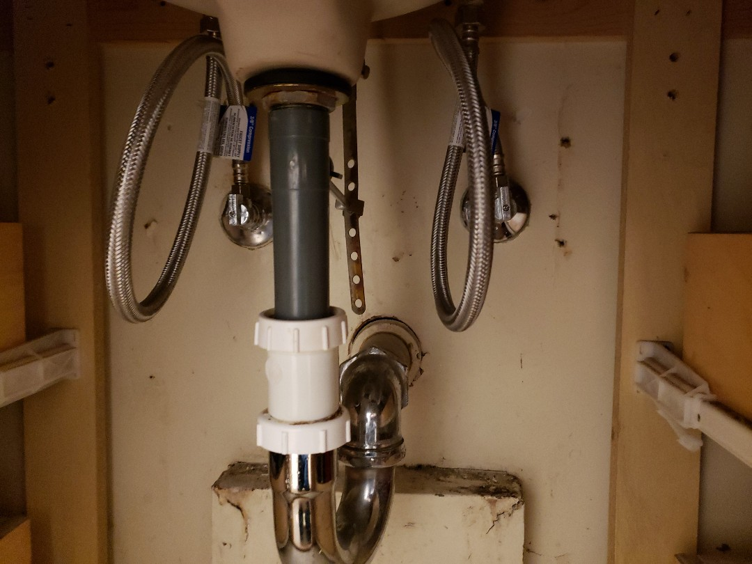 Felton, CA - New hot and cold water shut offs replacement