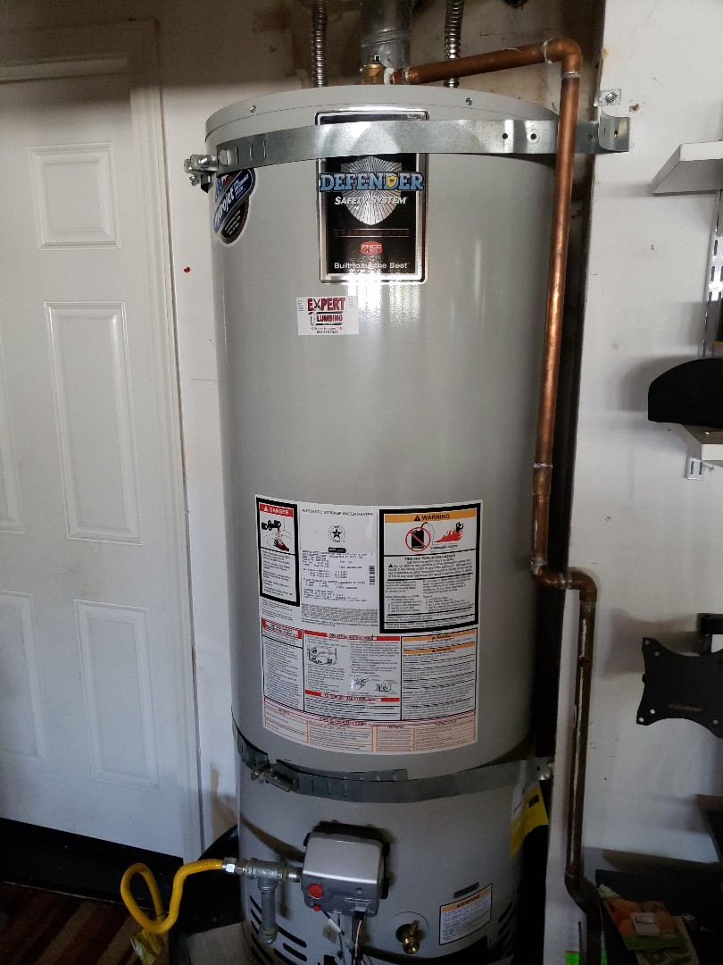 Scotts Valley, CA - New water heater installation by the Experts.