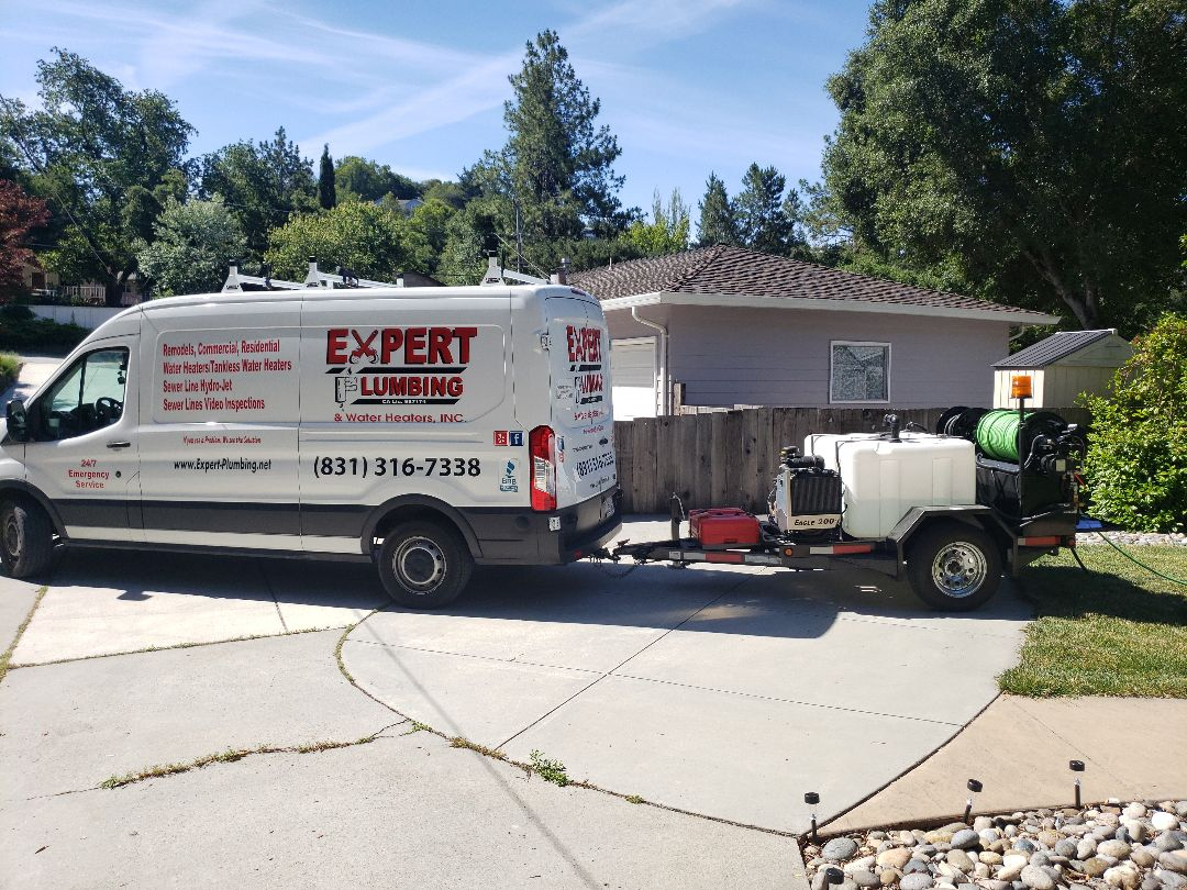 Scotts Valley, CA - Hydro Jetting Sewer lateral drain line