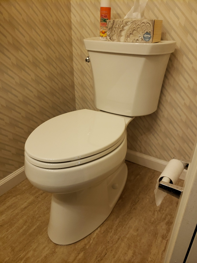 Aptos, CA - New toilet installation by Expert Plumbing