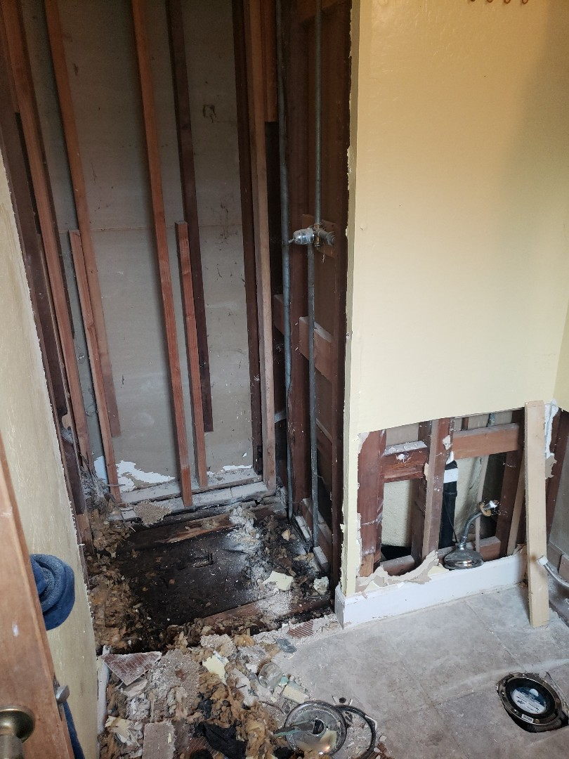 Santa Cruz, CA - Bathroom remodel by Expert Plumbing.