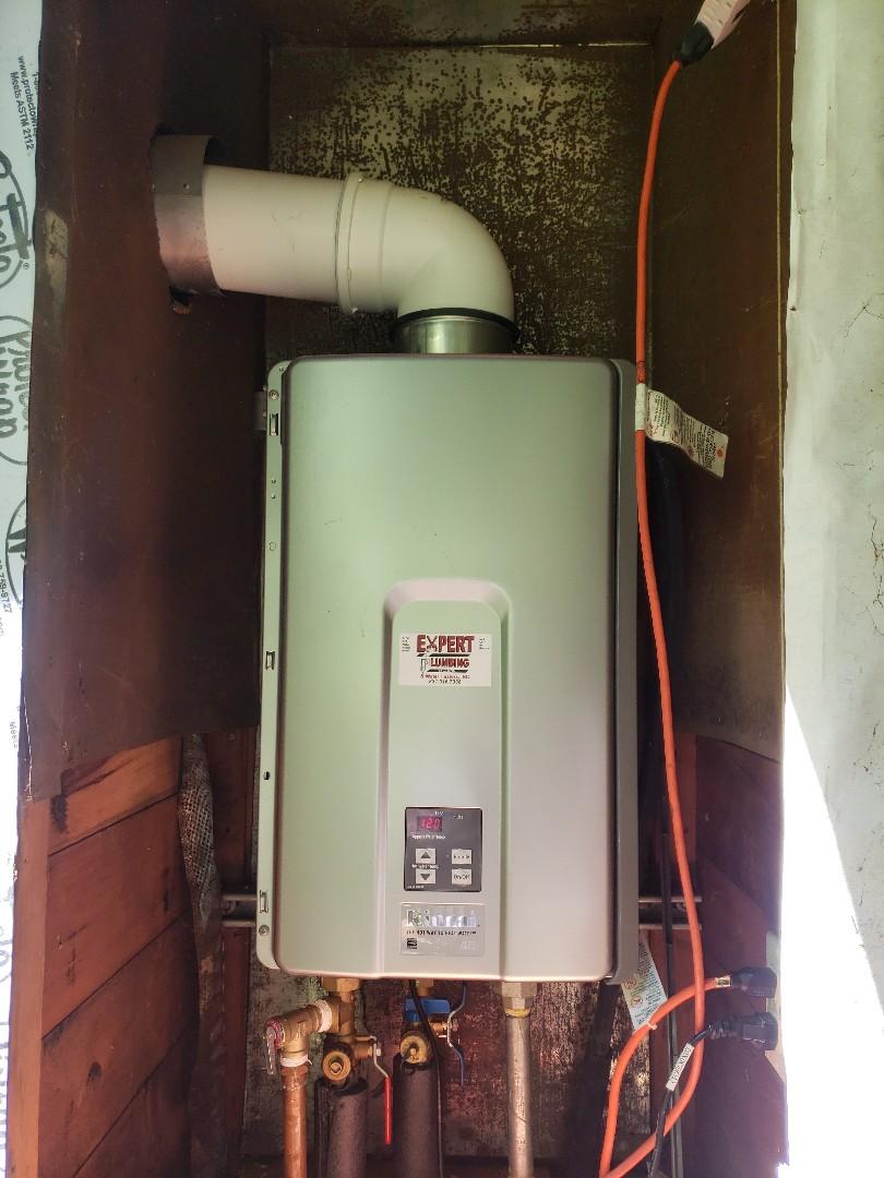 Felton, CA - Tankless water heater service