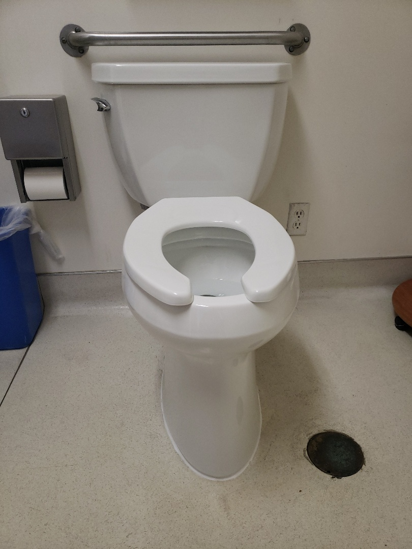 New commercial toilet installation.