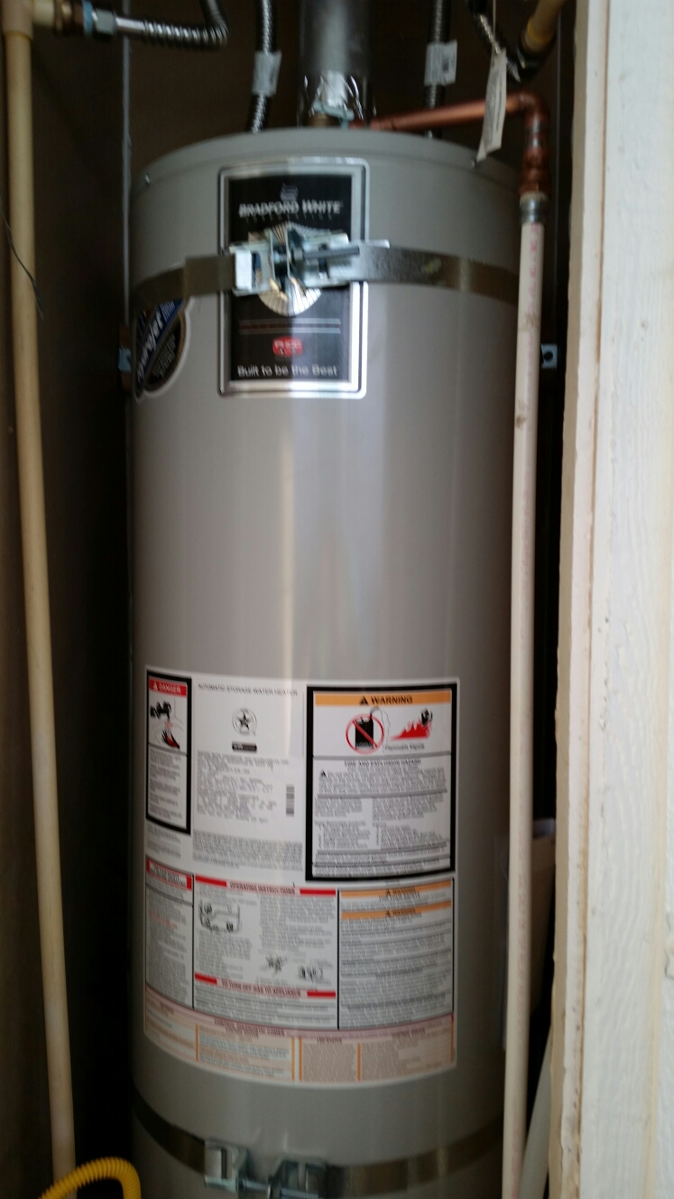 Capitola, CA - Expert Plumbing - Installed nee 30 gallons N.gas water heater.