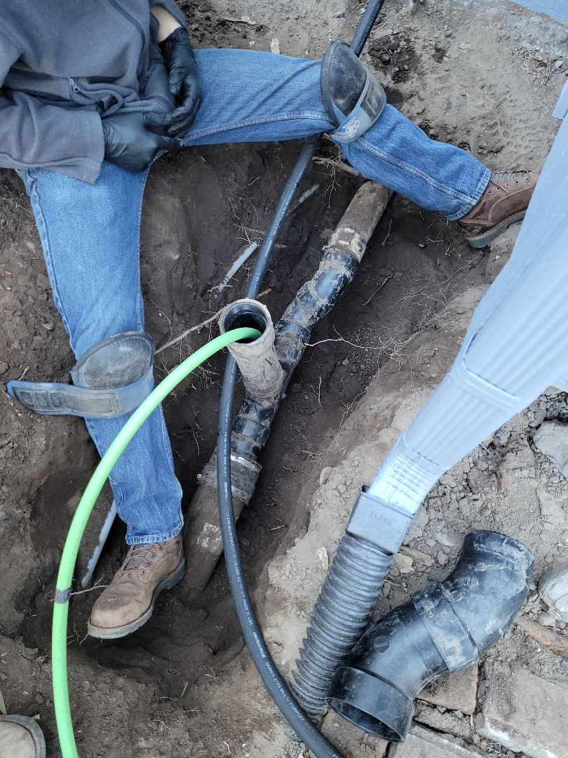 Aptos, CA - New sewer clean out installation