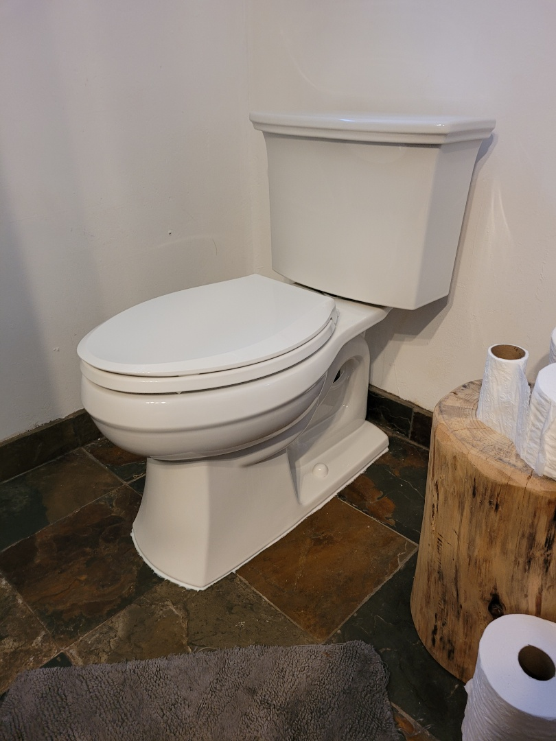 New toilet installation by Expert Plumbing