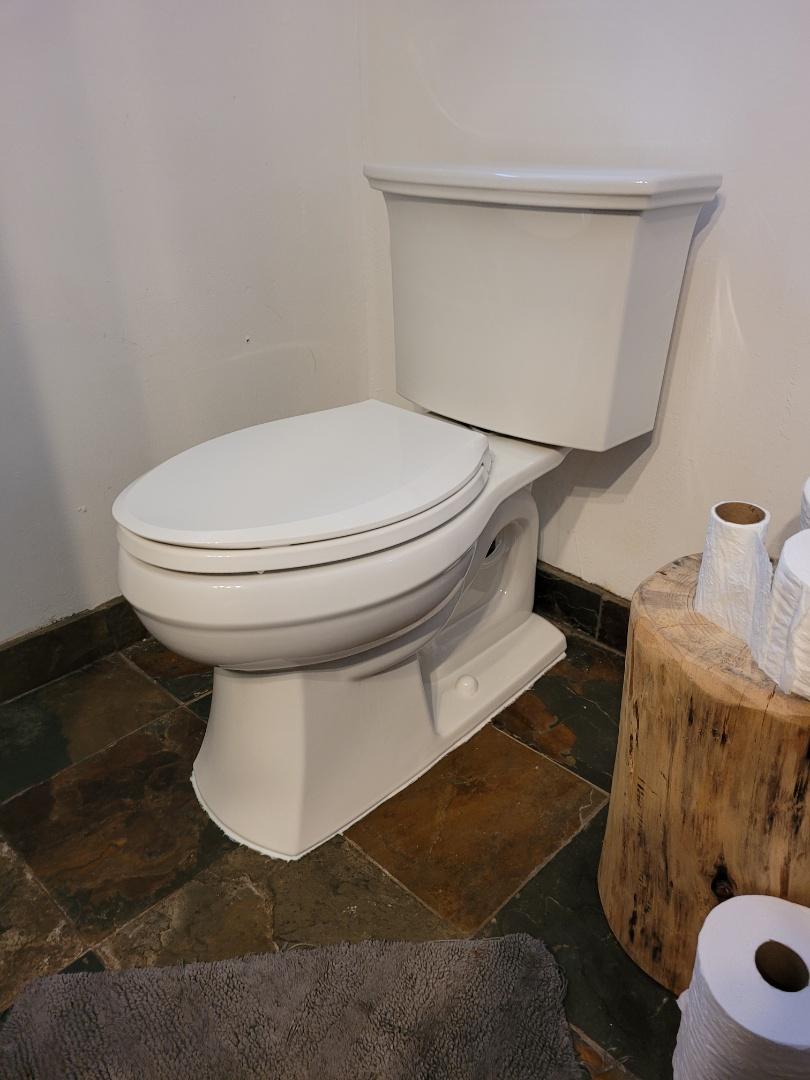 Santa Cruz, CA - New toilet installation by Expert Plumbing