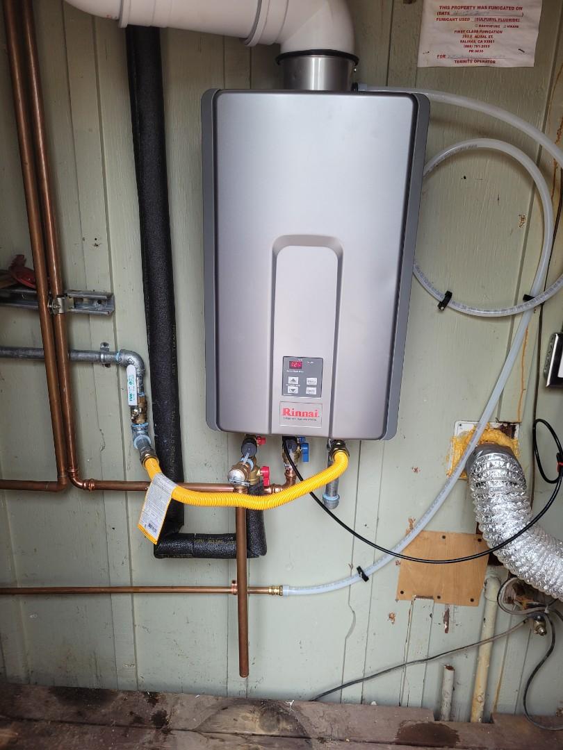 Santa Cruz, CA - New on demand/Tankless water heater