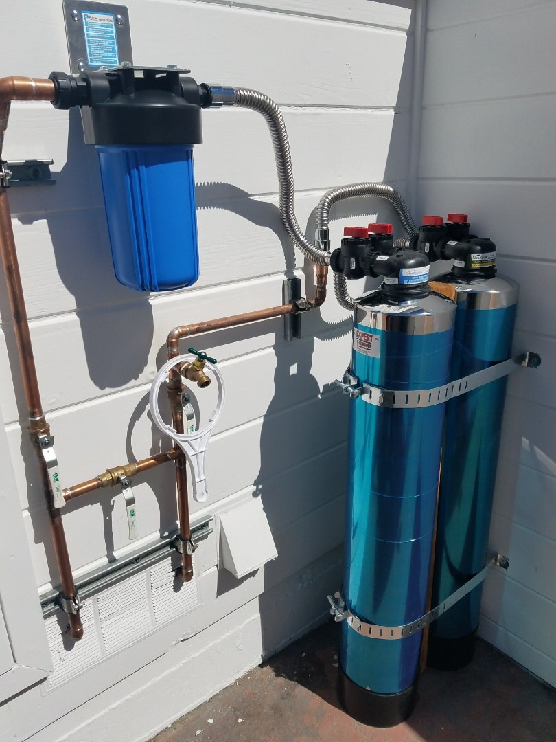 Capitola, CA - Whole house water filter system by the Experts @ Expert Plumbing.