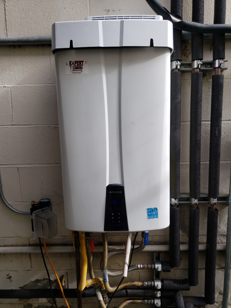 Scotts Valley, CA - Expert Plumbing installed new Commercial Tankless water heater.