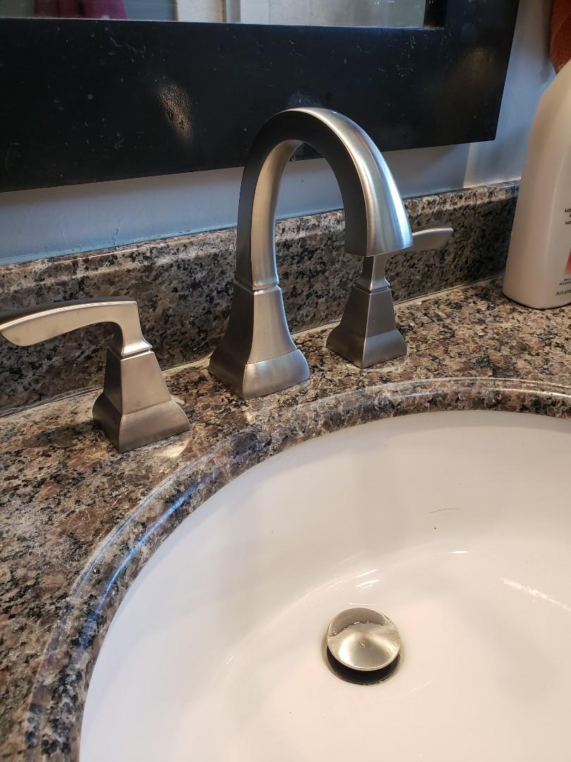 Santa Cruz, CA - New lavatory faucet. Great job Expert Plumbing