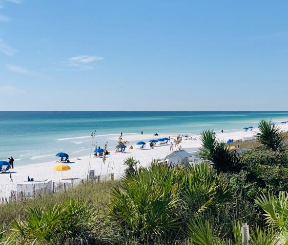 Calling all beach property buyers!  Would you like a gulf front view like this?  Gulf coast properties are high in demand, so let me your local real estate expert to the work for you!  I work as a buyer agent and listing agent in the Gulf Coast area, Pensacola Beach and Navarre Beach. I am also a certified military relocation professional.