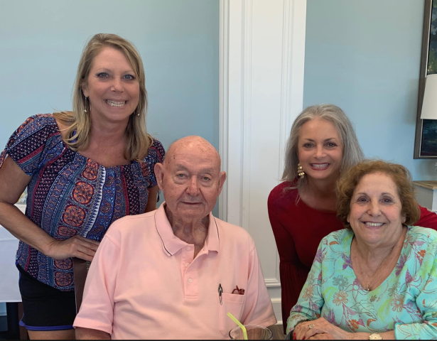 Eating lunch with my home sellers.  I got their Navarre, FL home under contract in less than 7 days and brought the home buyer.  Call me for your real estate needs in the Pensacola area.  I am also a military relocation specialist so I understand military home buyer's needs.