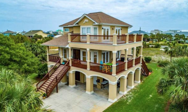 OPEN HOUSE Saturday, Dec 6th, 11-1. Come check out this 4 Bed/2.5 Bath executive home with sound views! 1106 Panferio Dr, Pensacola Beach.  Come get real estate information from an expert Pensacola realtor.  Serving home buyers and home sellers in Pensacola, Pensacola Beach, Gulf Breeze, Navarre, Cantonment, Milton, and Pace.