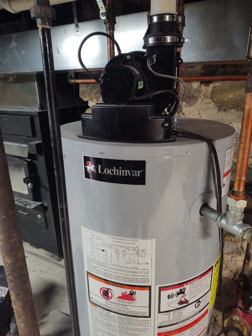 Elsie, MI - New Lochinvar water heater install