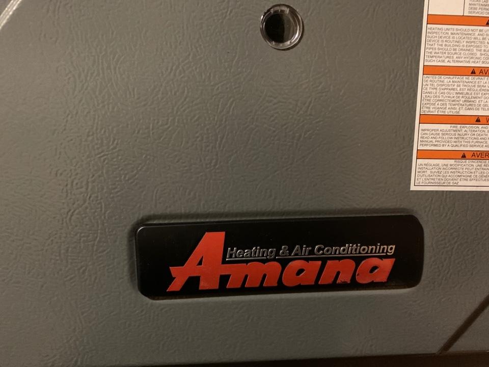 DeWitt, MI - Replace Ruud furnace with new Amana