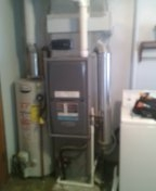 Ashley, MI - Furnace tune up and new thermostat installed