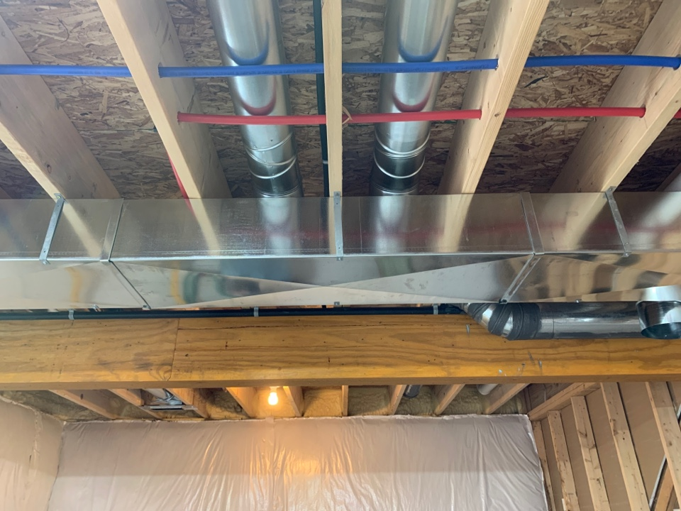 Saint Johns, MI - Duct work