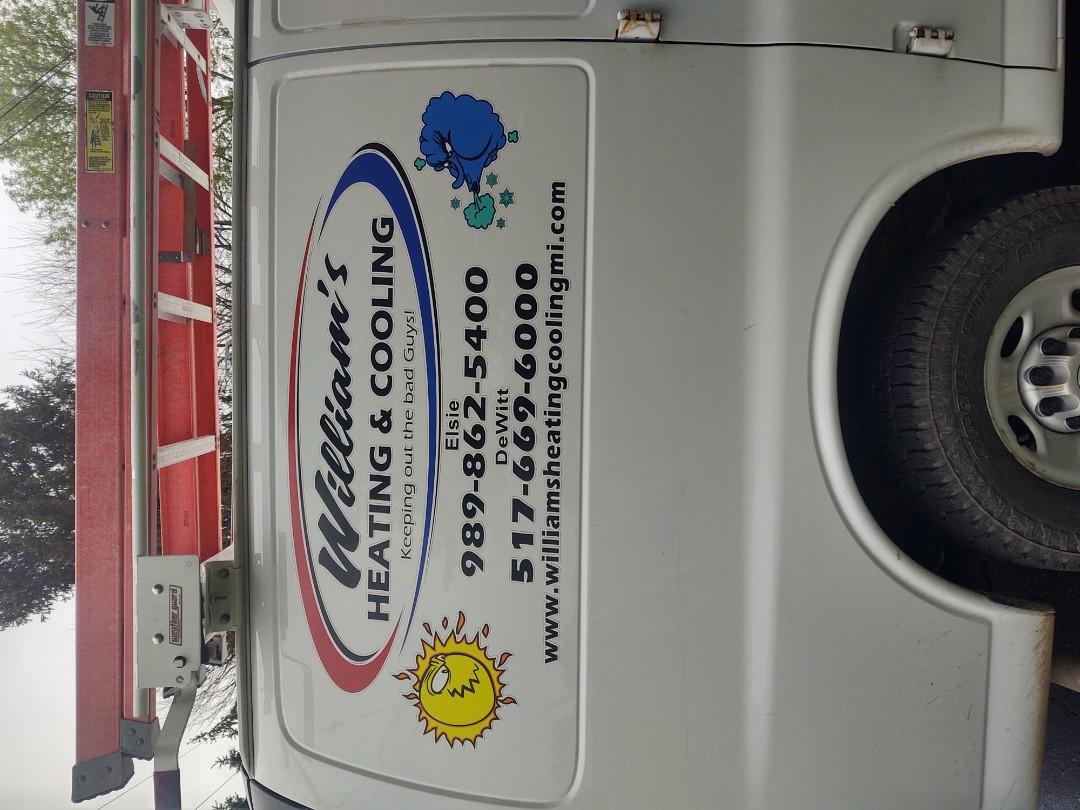 Lansing, MI - Cooling service call