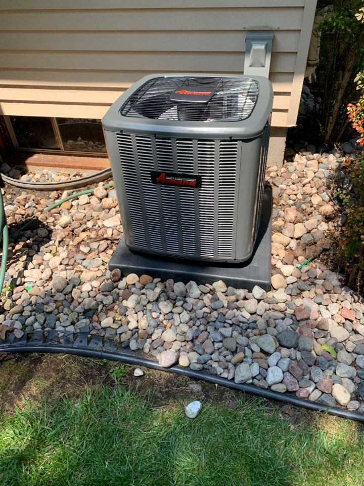 DeWitt, MI - Install air conditioner replacement