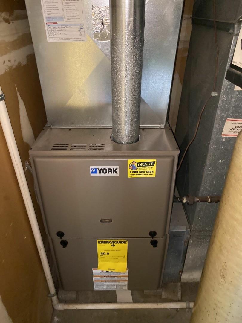 Service call on York gas furnace