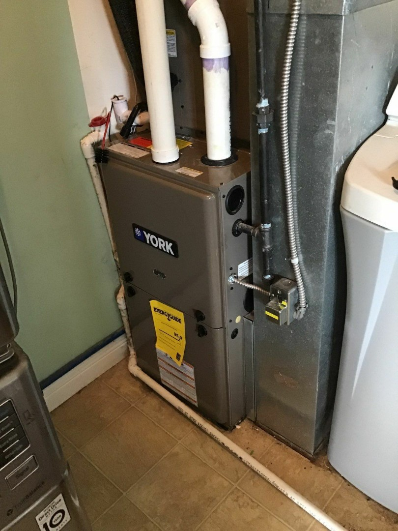 Franklin, OH - Service call on York gas furnace