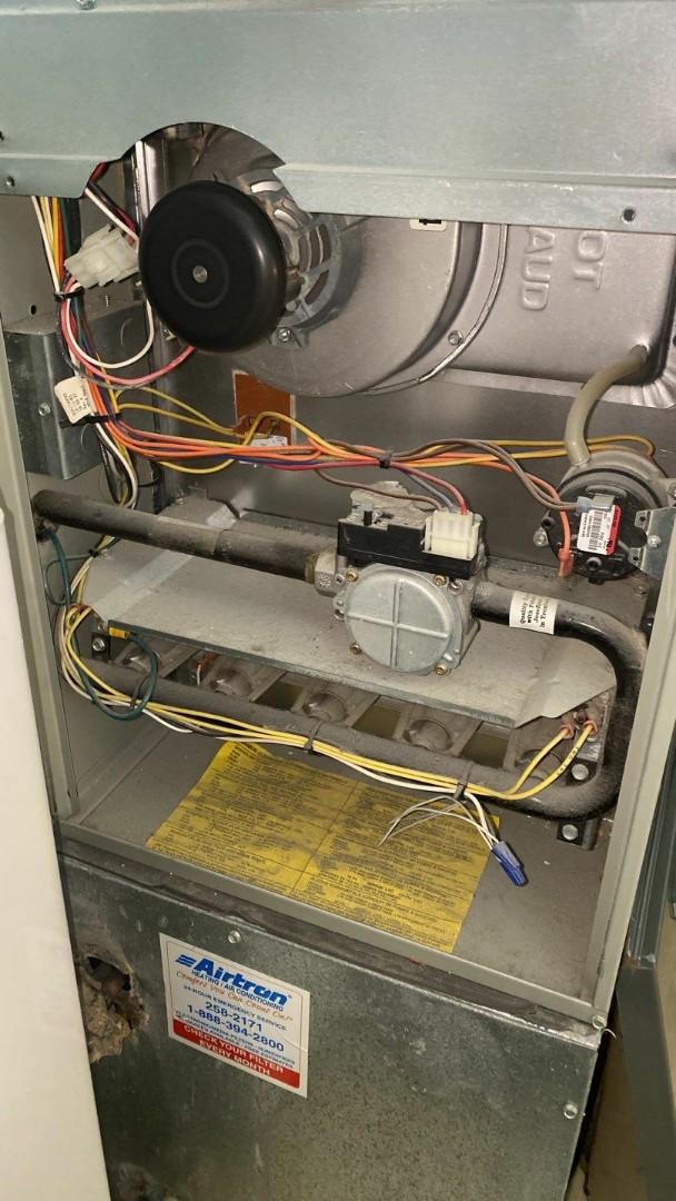 Huber Heights, OH - Service call on Trane gas furnace
