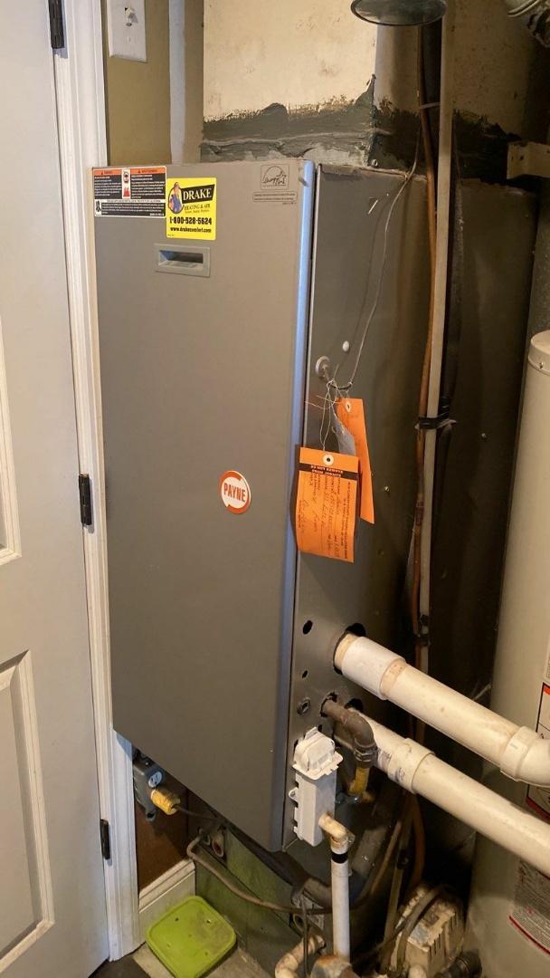 Maintenance on Payne gas furnace