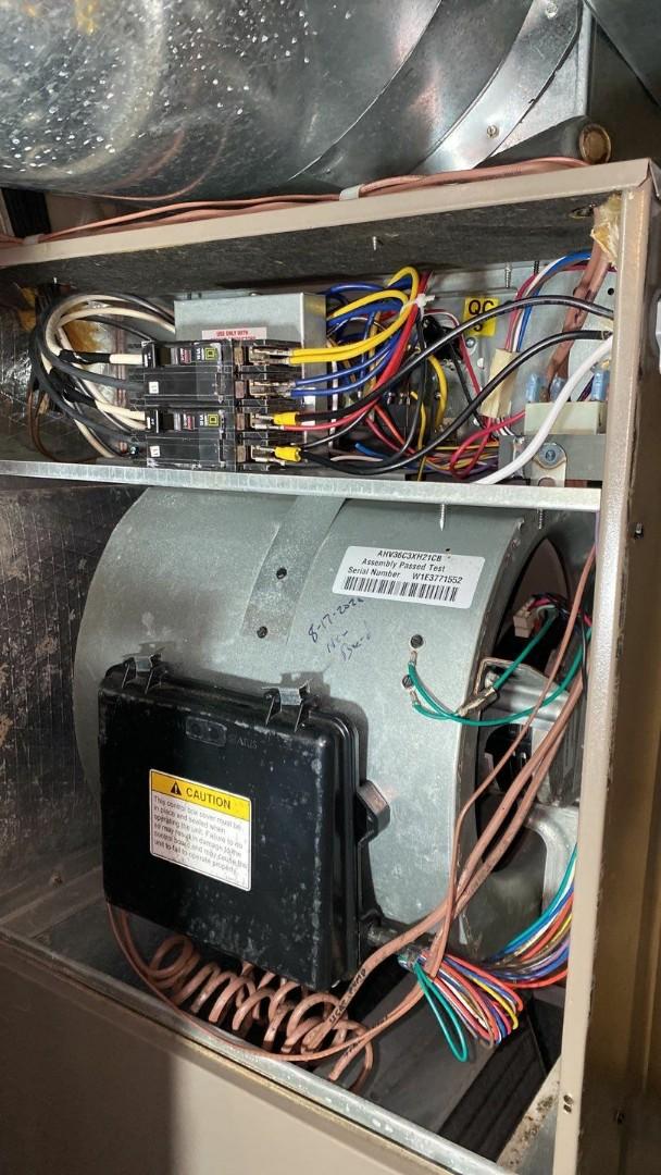 Maintenance on York and Amana heat pumps