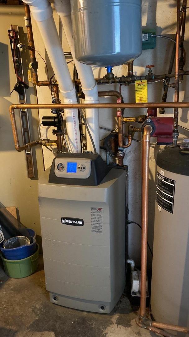 Maintenance on Weil-Mclain Ultra Boiler
