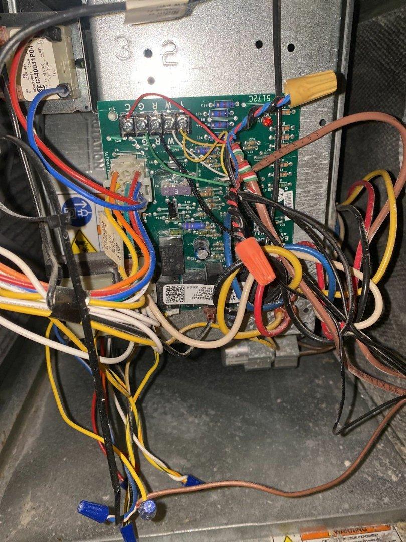 Maintenance on Trane gas furnace