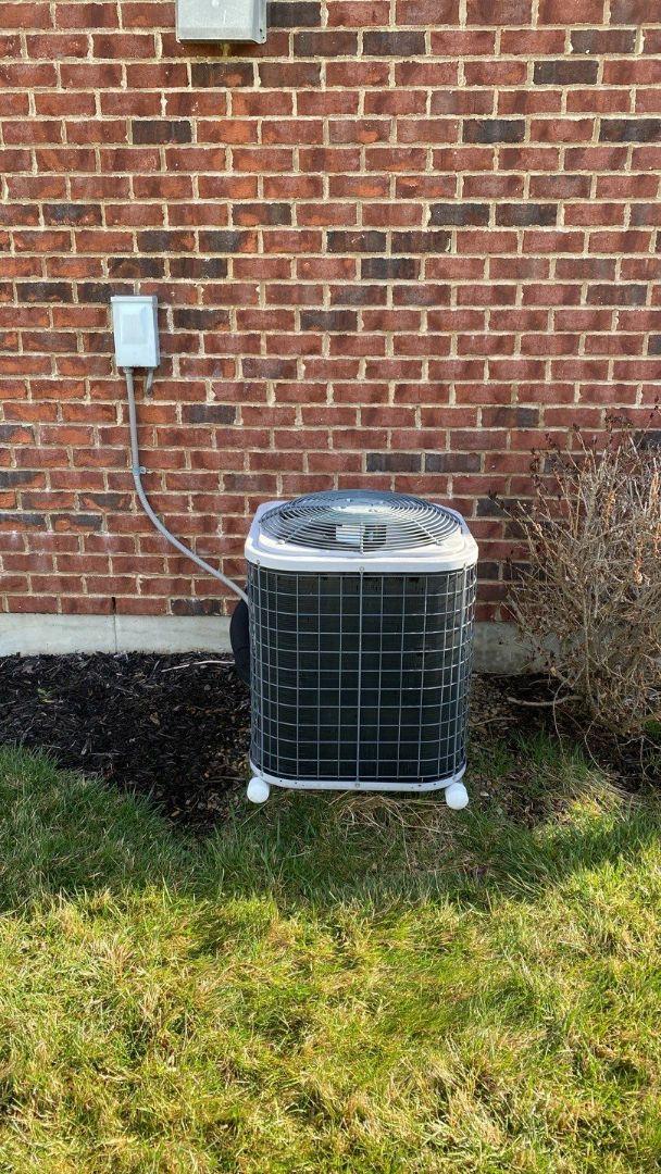 Maintenance on Tempstar gas furnace and ac