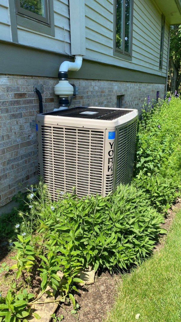 Maintenance on York air conditioner
