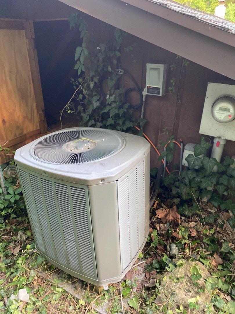 Repair on Trane air conditioner