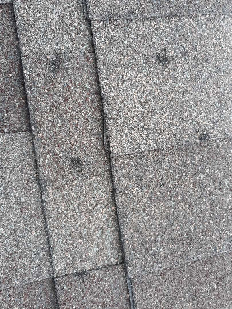 Longmont, CO - This customer in the Wyndemere plan in North Longmont was denied by their carrier when a claim was filed for hail damage.  The customer then called WestPro and we have determined that a reinspection is in order. Hail has clearly caused damage to this customer's roof system