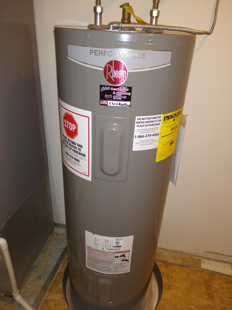 Ingalls, IN - Water heater replacement
