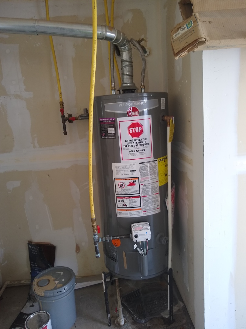 Noblesville, IN - Water heater install