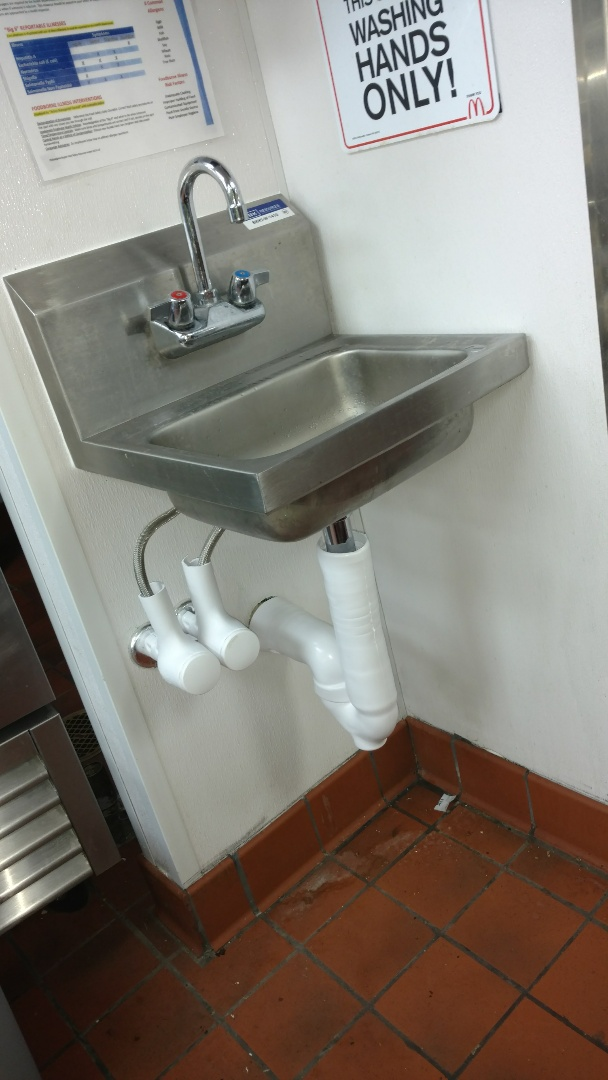 Knightstown, IN - Install hand sink at McDonald's