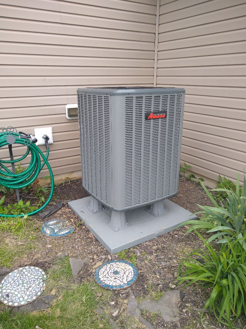Fishers, IN - Performed furnace & heat pump installation